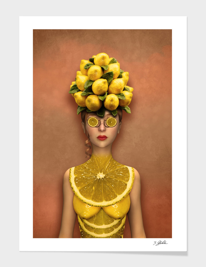 Lemon Lady main illustration