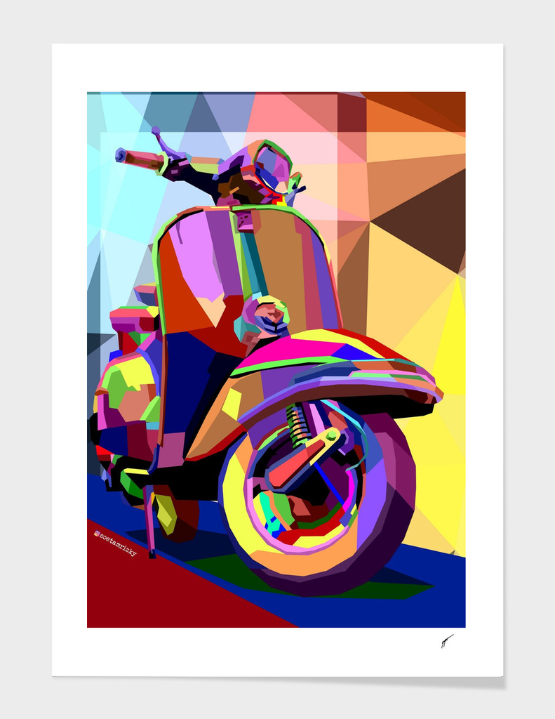 Vespa #2 main illustration