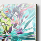 Acrylic Glass Print illustration