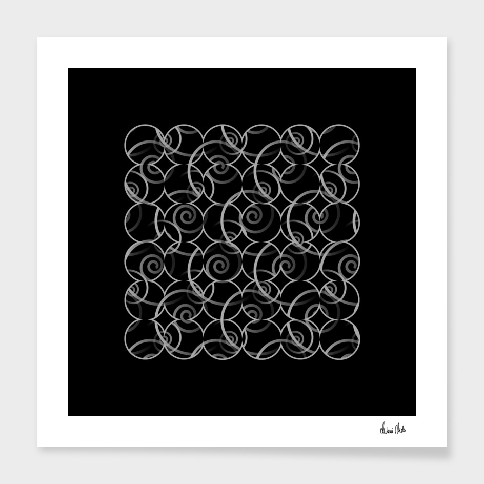 Abstract Circles | spiral pattern no. 7