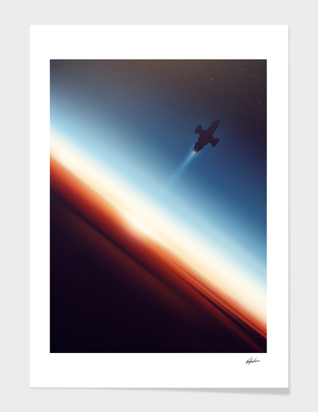 Into Space main illustration