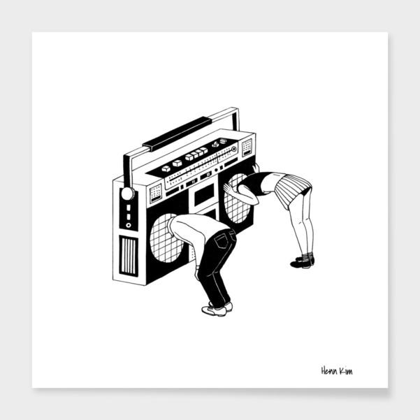 Radiohead main illustration