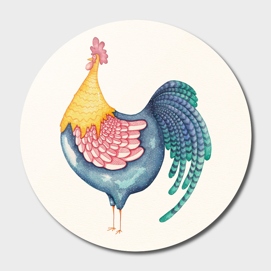 Gala Rooster main illustration