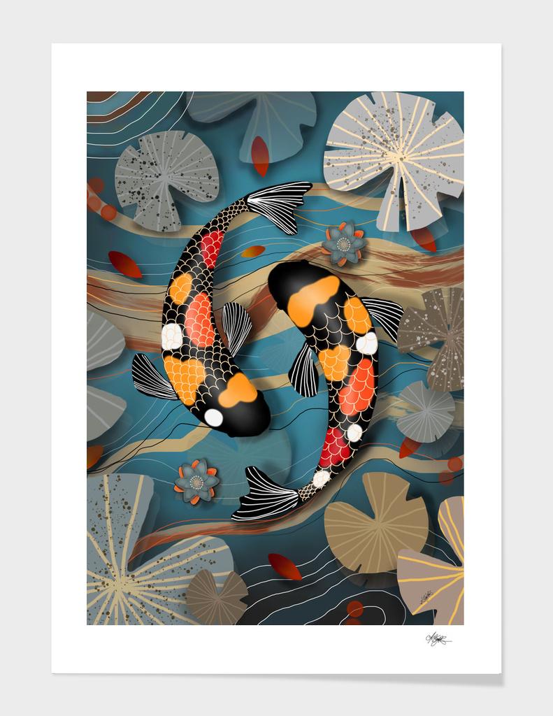 Koi Watergarden main illustration