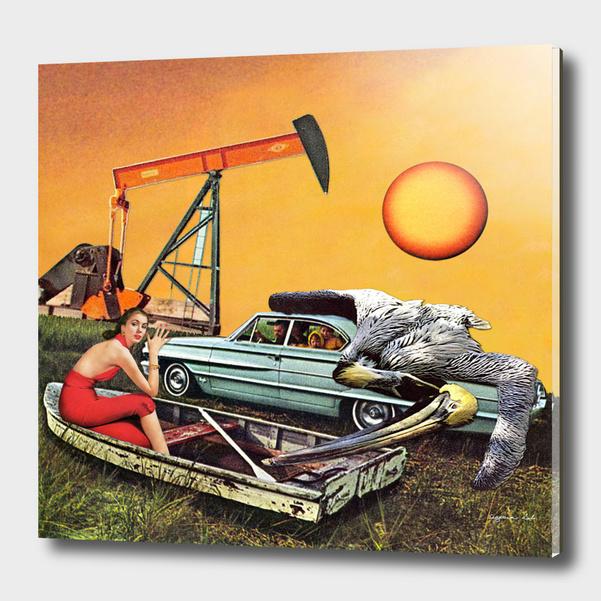 Addiction to Oil main illustration
