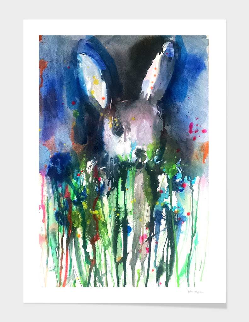 Drip Bunny main illustration