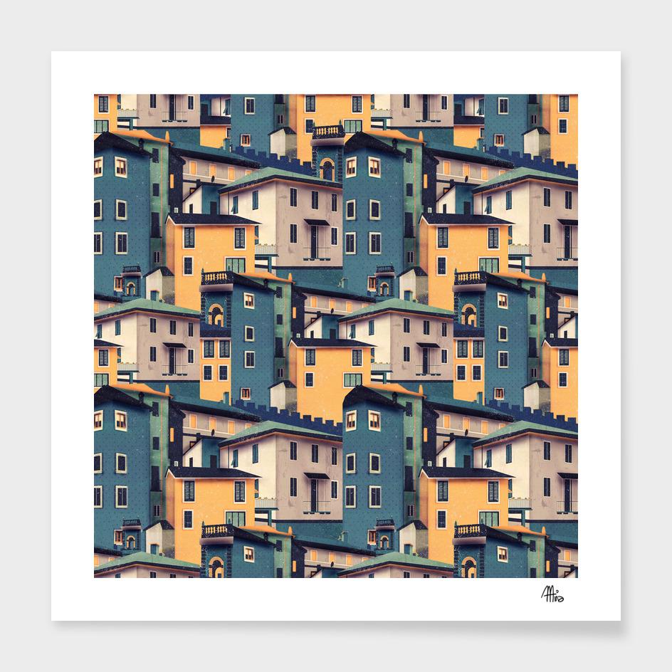Night Castles (Pattern)