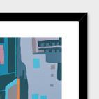Framed Art Print illustration