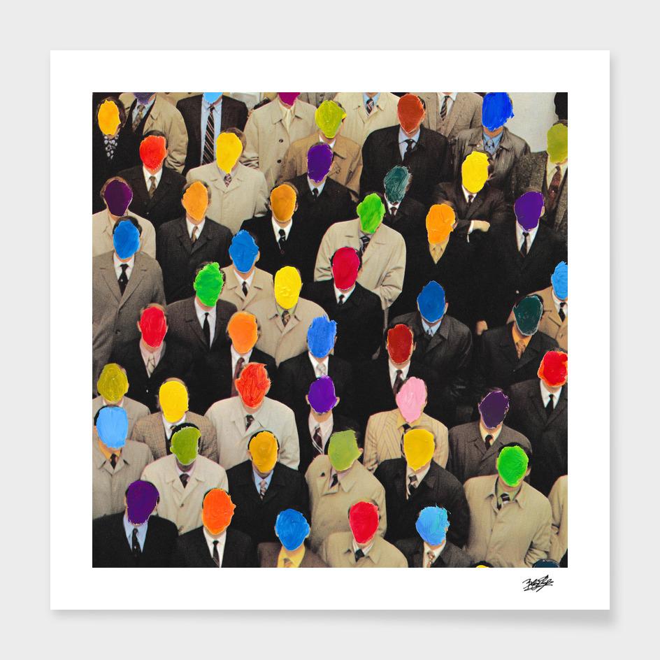 Rainbow people