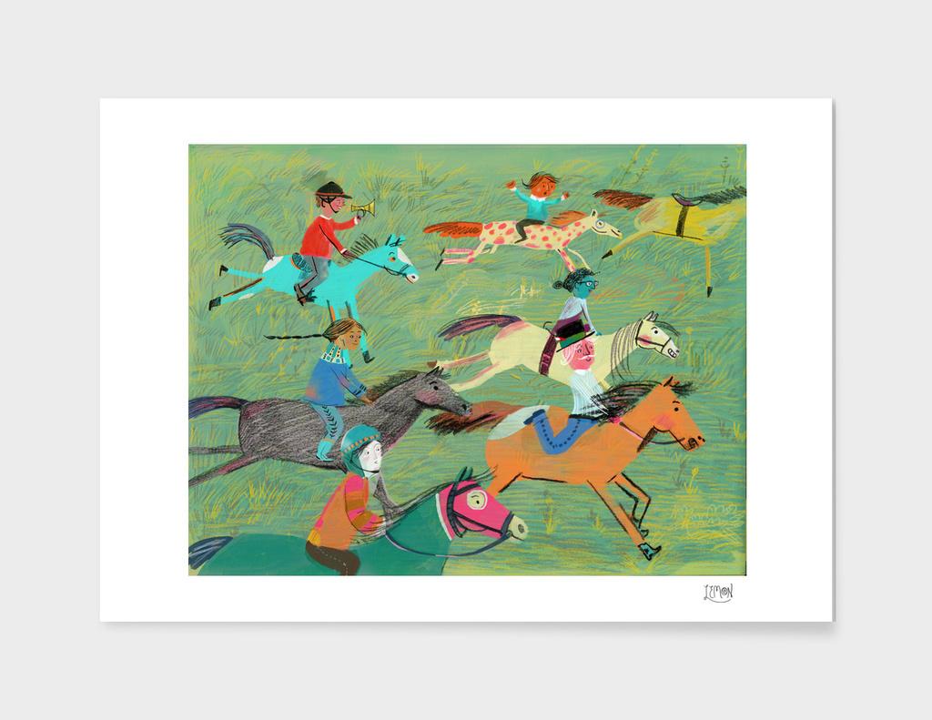 Tally Ho main illustration
