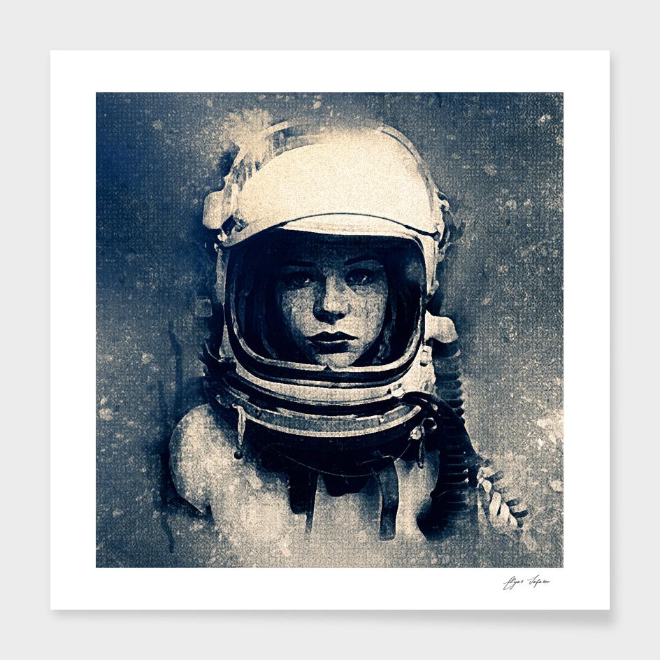 Cosmic girl main illustration