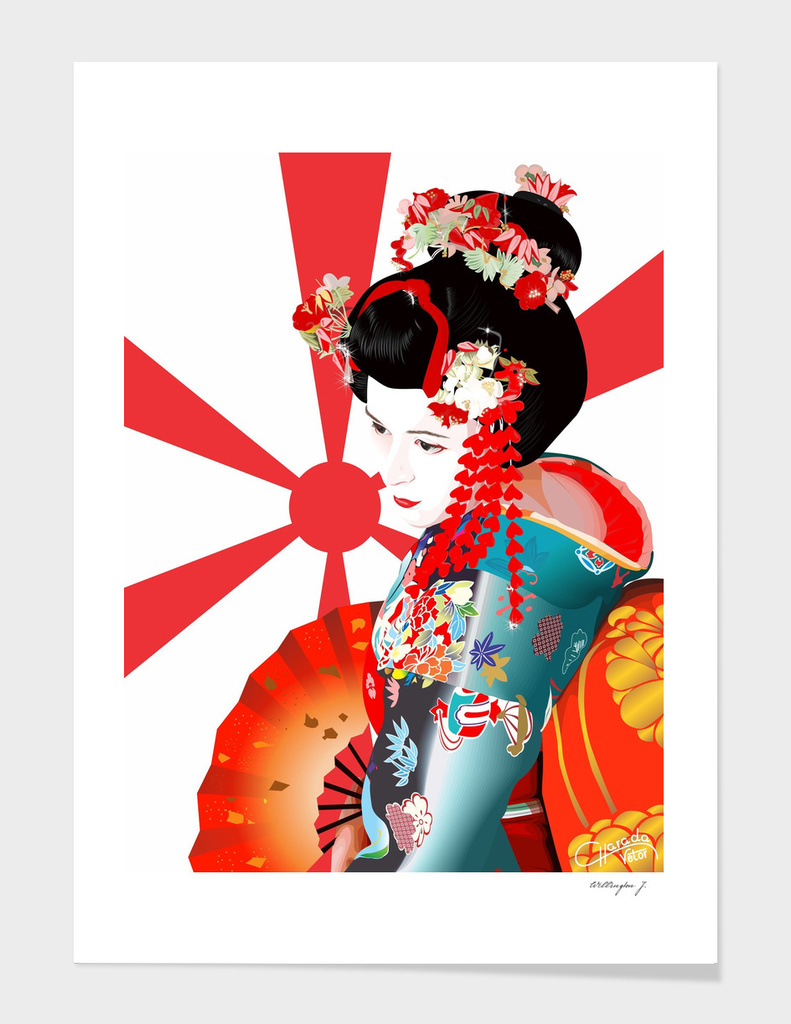 Geisha Genita main illustration