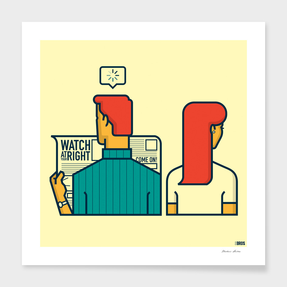 Watch at your right main illustration