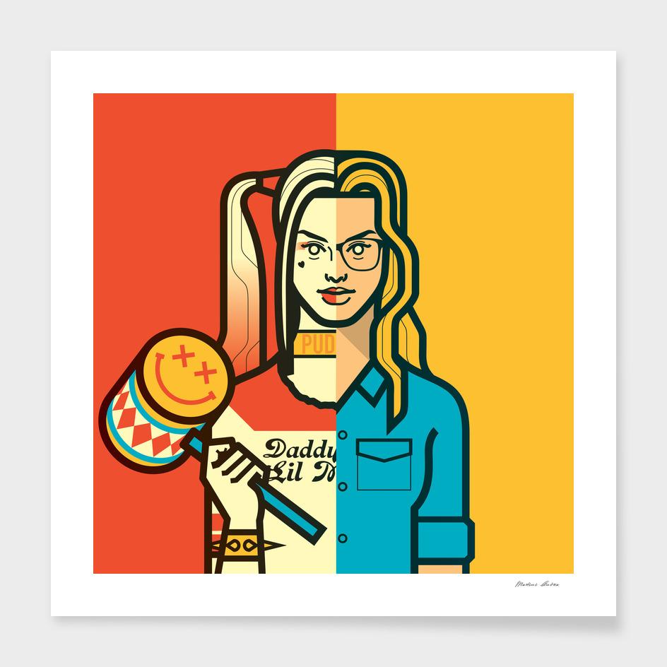 Harley Quinn main illustration
