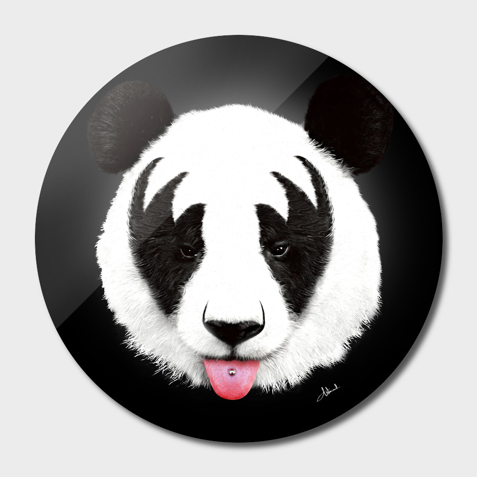 Kiss of a Panda main illustration