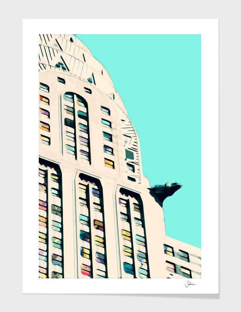 NYC famous Chrysler Building