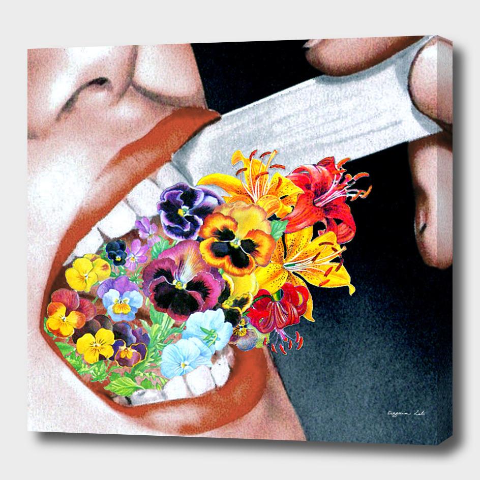 Gardens Flower in her Blooming Breath