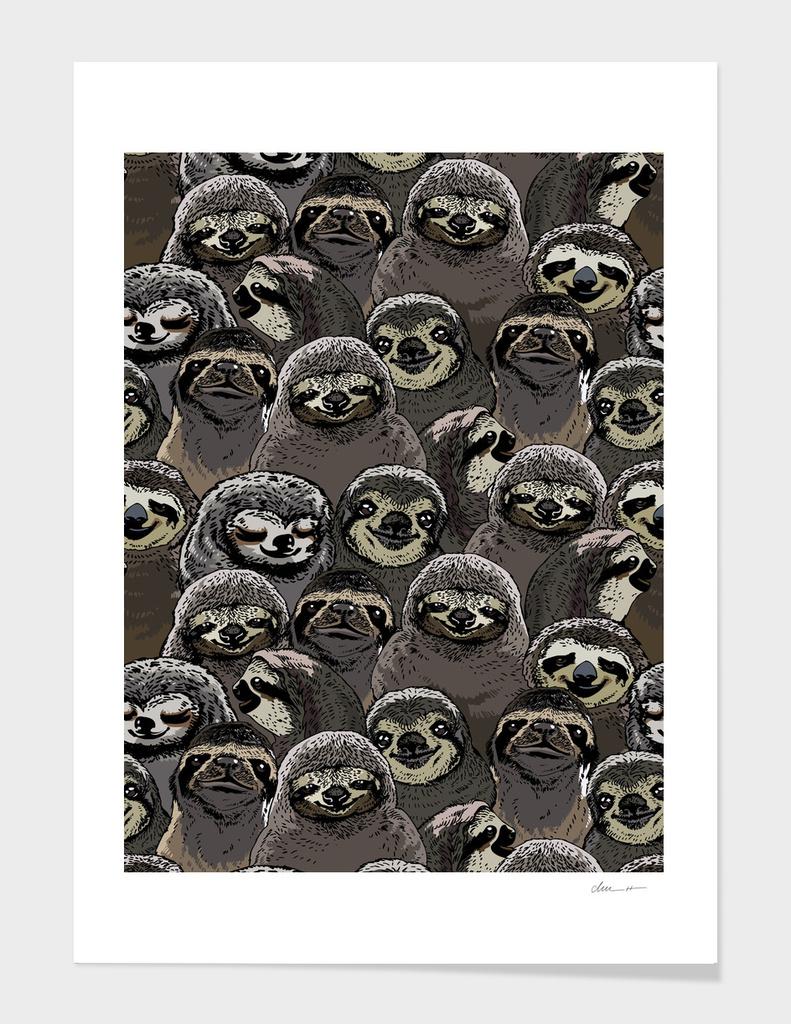 Social Sloths main illustration