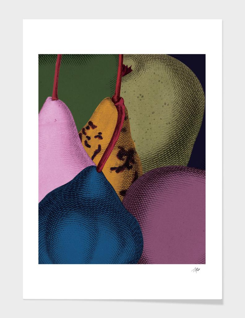 Modern Still life - Pears main illustration