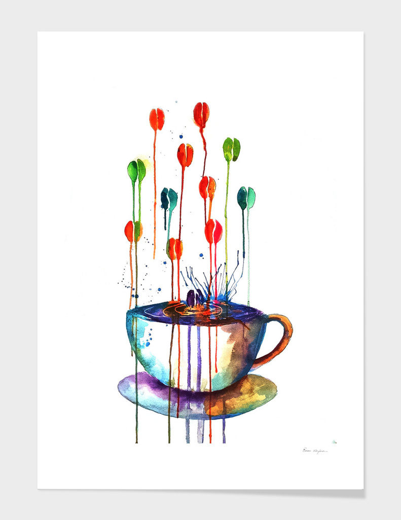Coffee Splash main illustration