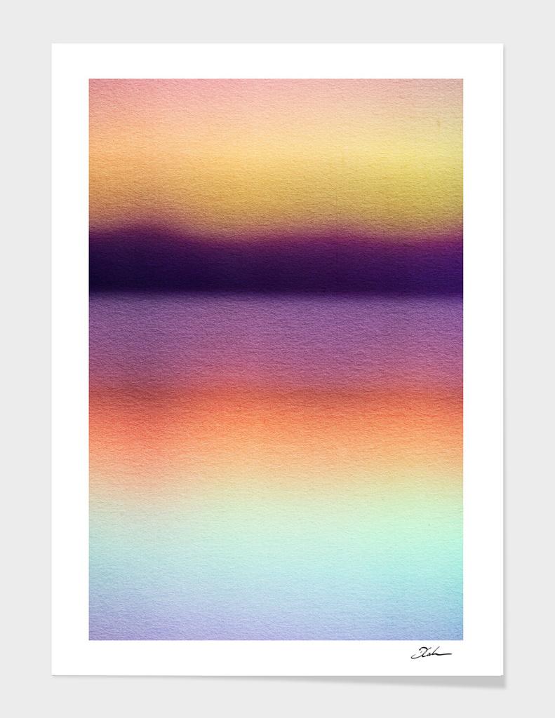 BLUR / mountain lake