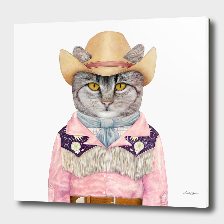 Country Cat main illustration