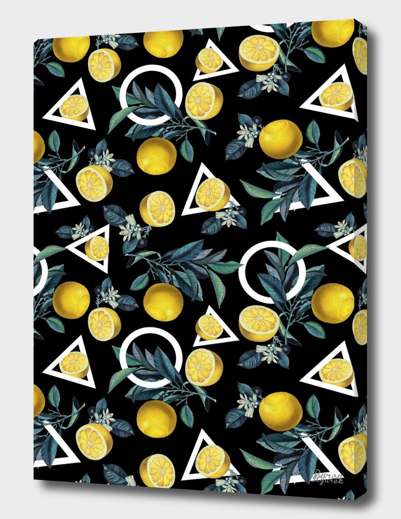 Geometric and Lemon pattern II main illustration