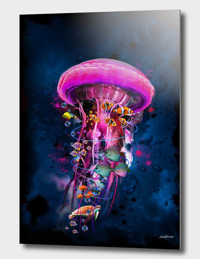 Pink JellyFish World