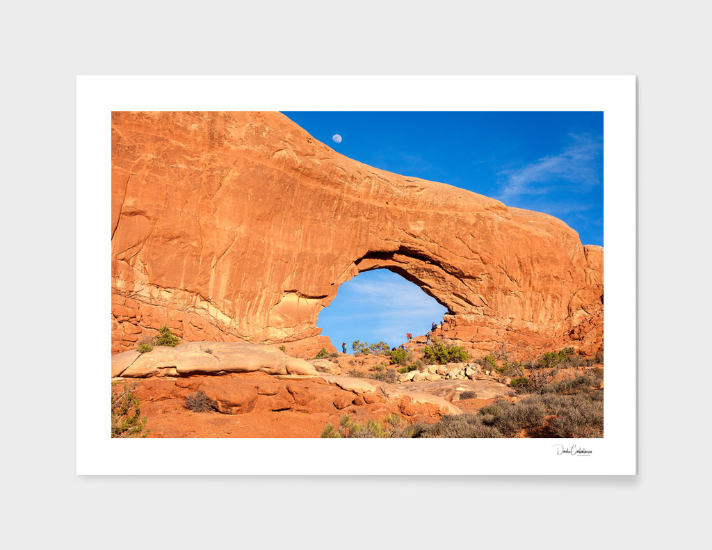 North Window close up at Arches National Park main illustration