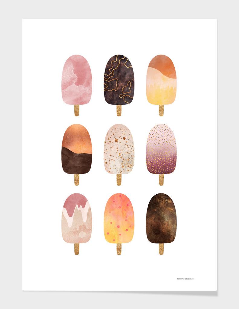 Pretty Popsicles 1 main illustration