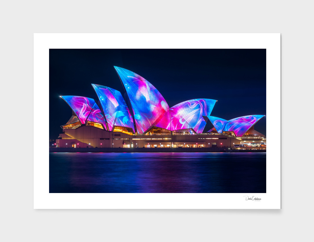 Amazing new Designs on the Opera House at Vivid Sydney
