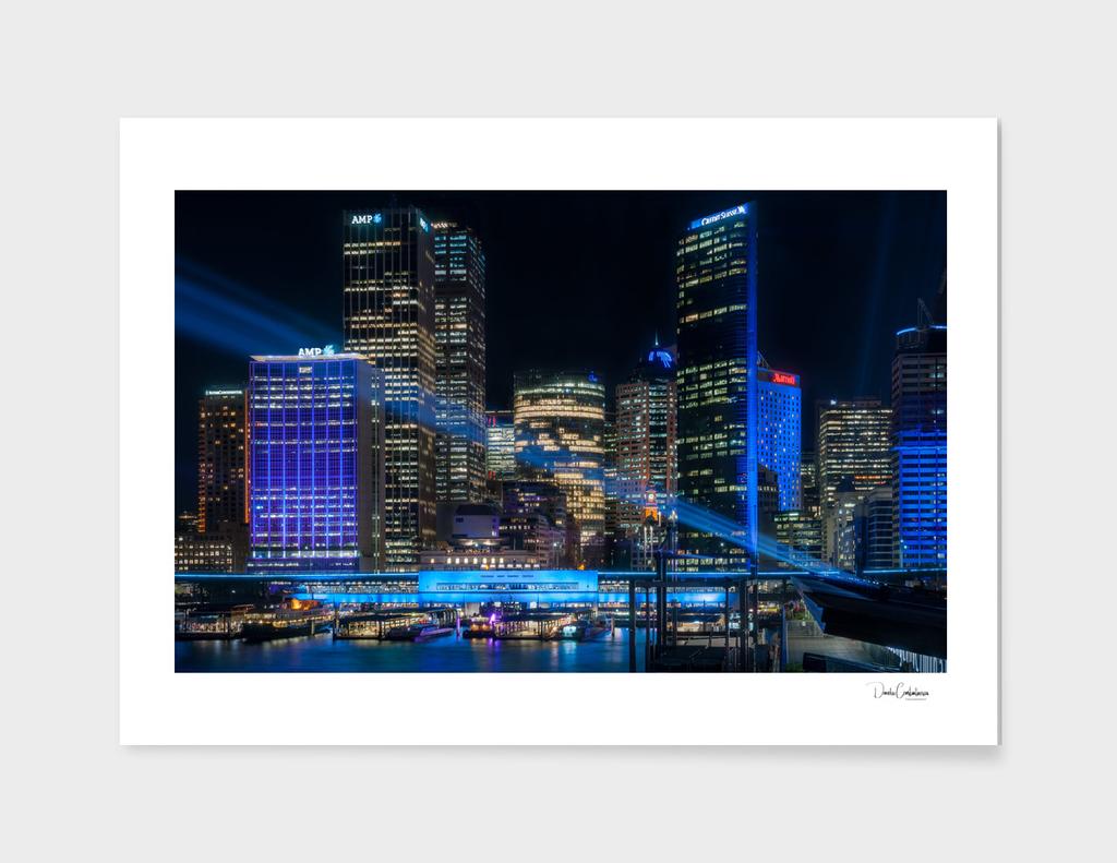 Vivid Sydney -The Blue City main illustration