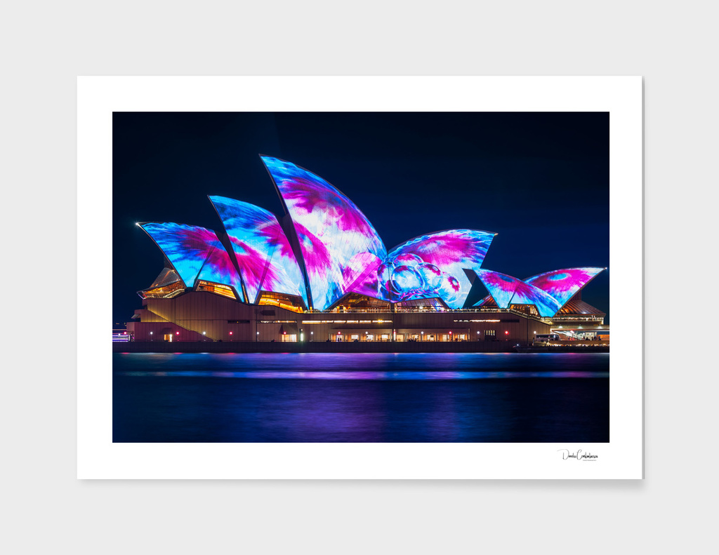 Interesting new Designs on the Opera House at Vivid Sydney main illustration