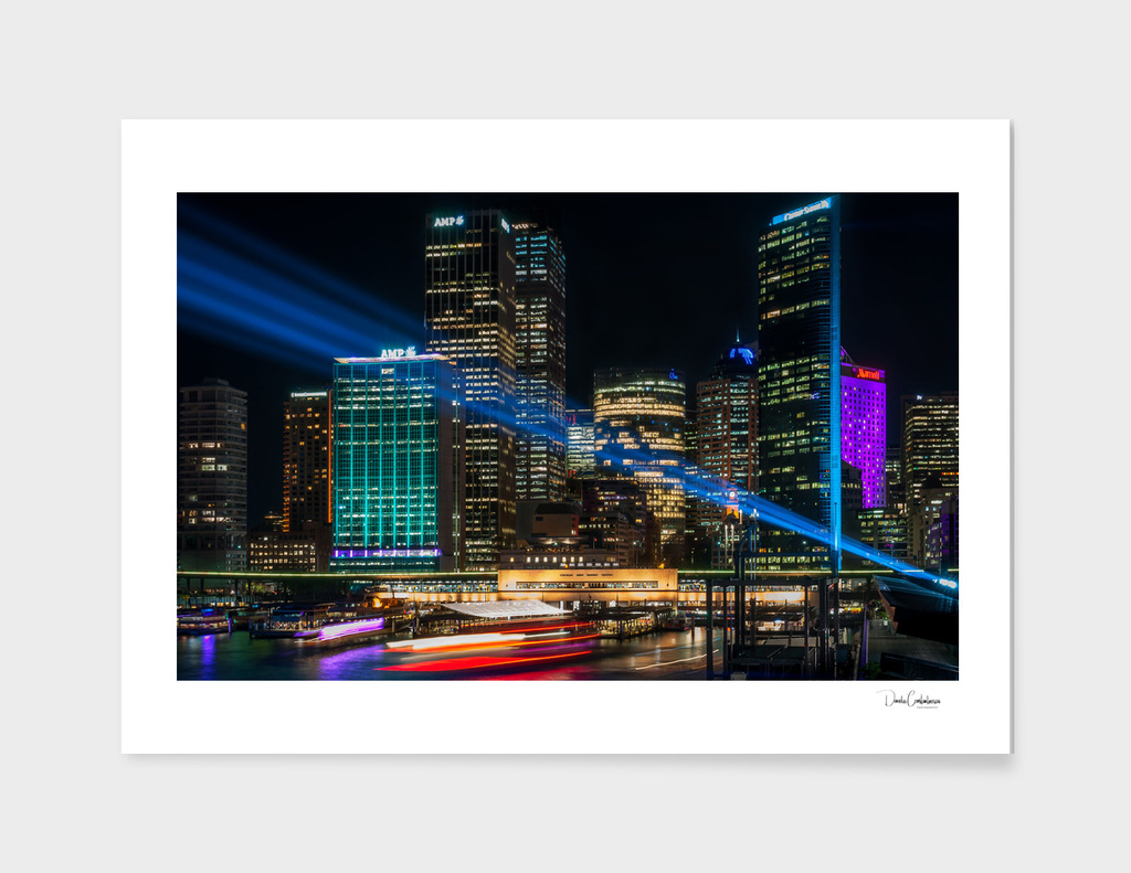 Vivid Sydney at Circular Quay main illustration