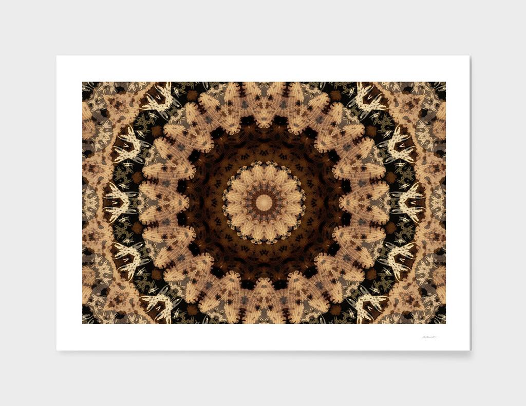 Textile Mandala I