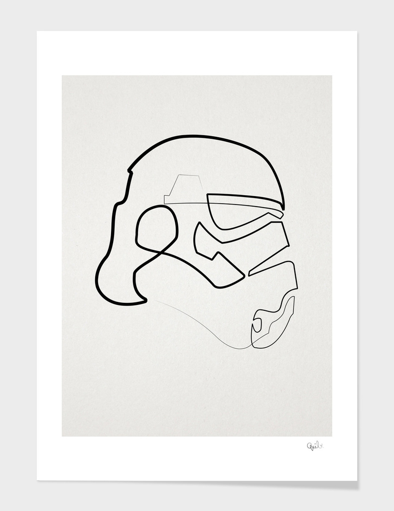 One Line Storm Trooper