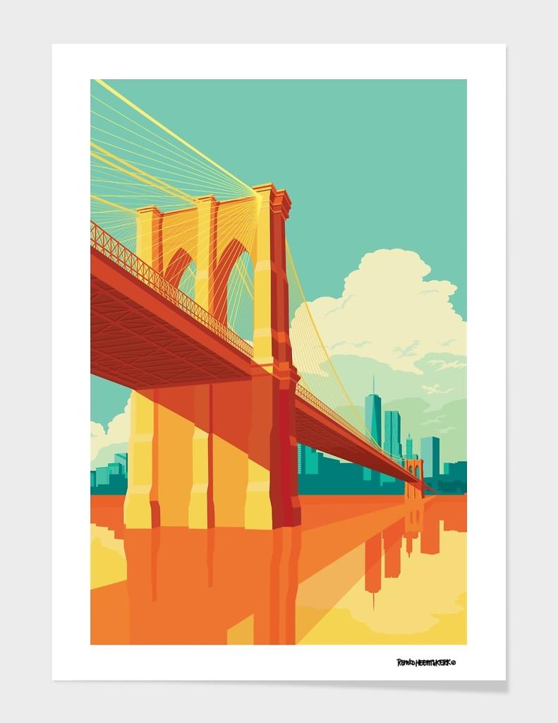 Brooklyn Bridge NYC main illustration
