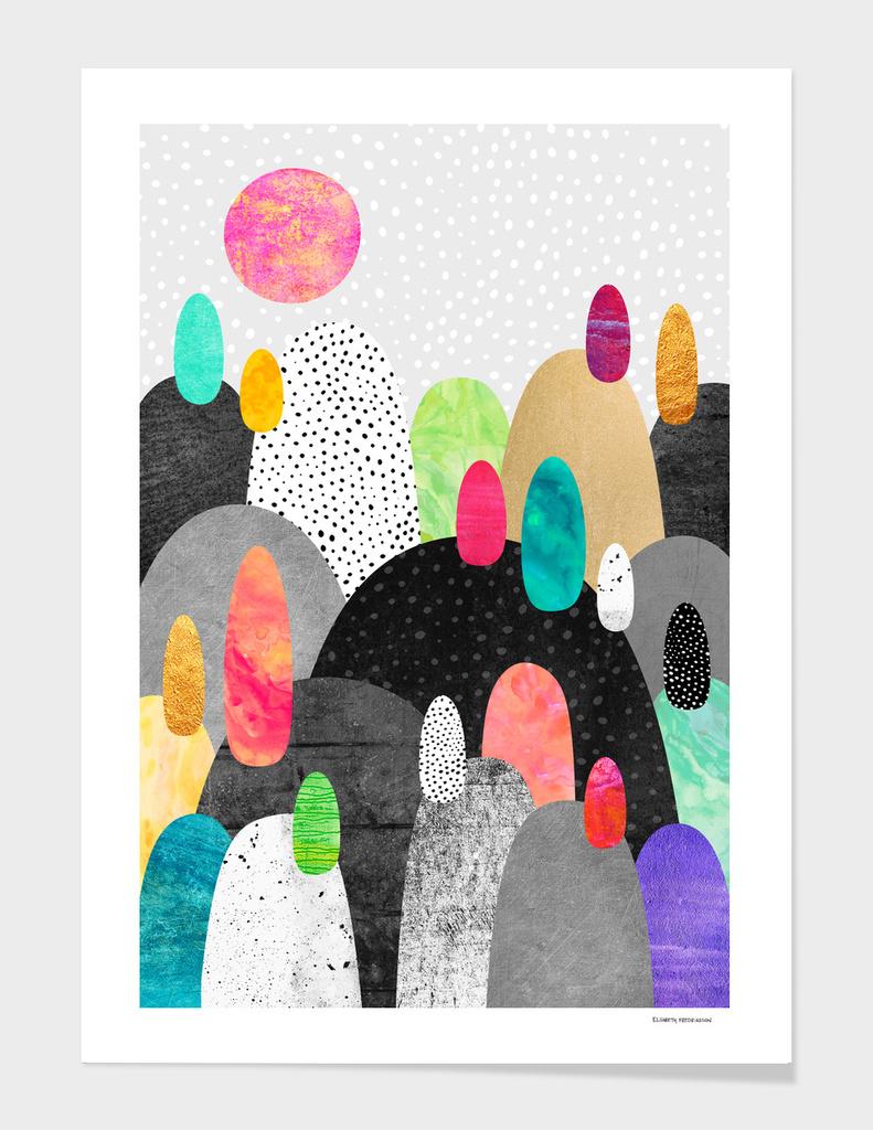 Little Land Of Pebbles main illustration