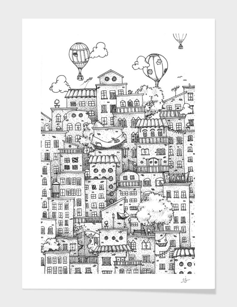 uptown main illustration