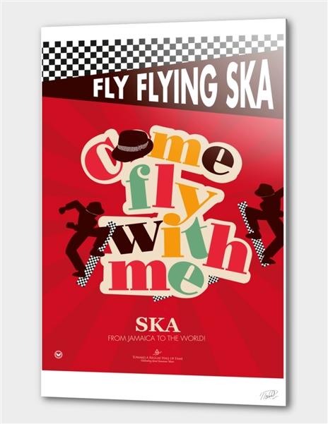 Fly Flying Ska main illustration