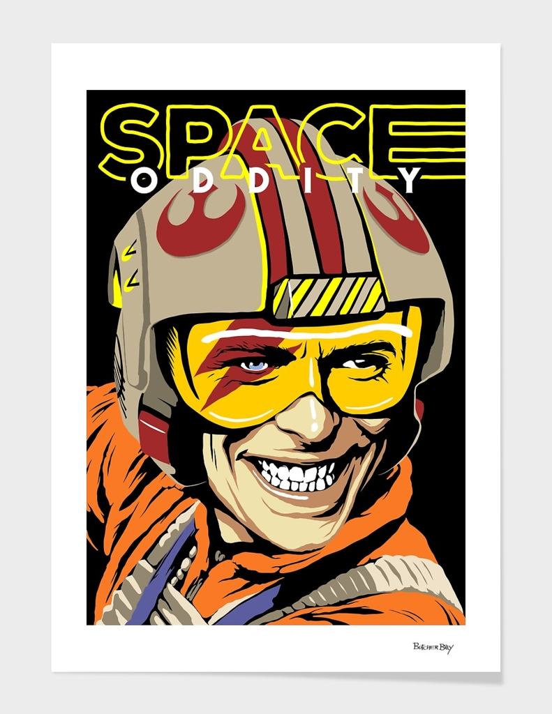 Space Oddity main illustration