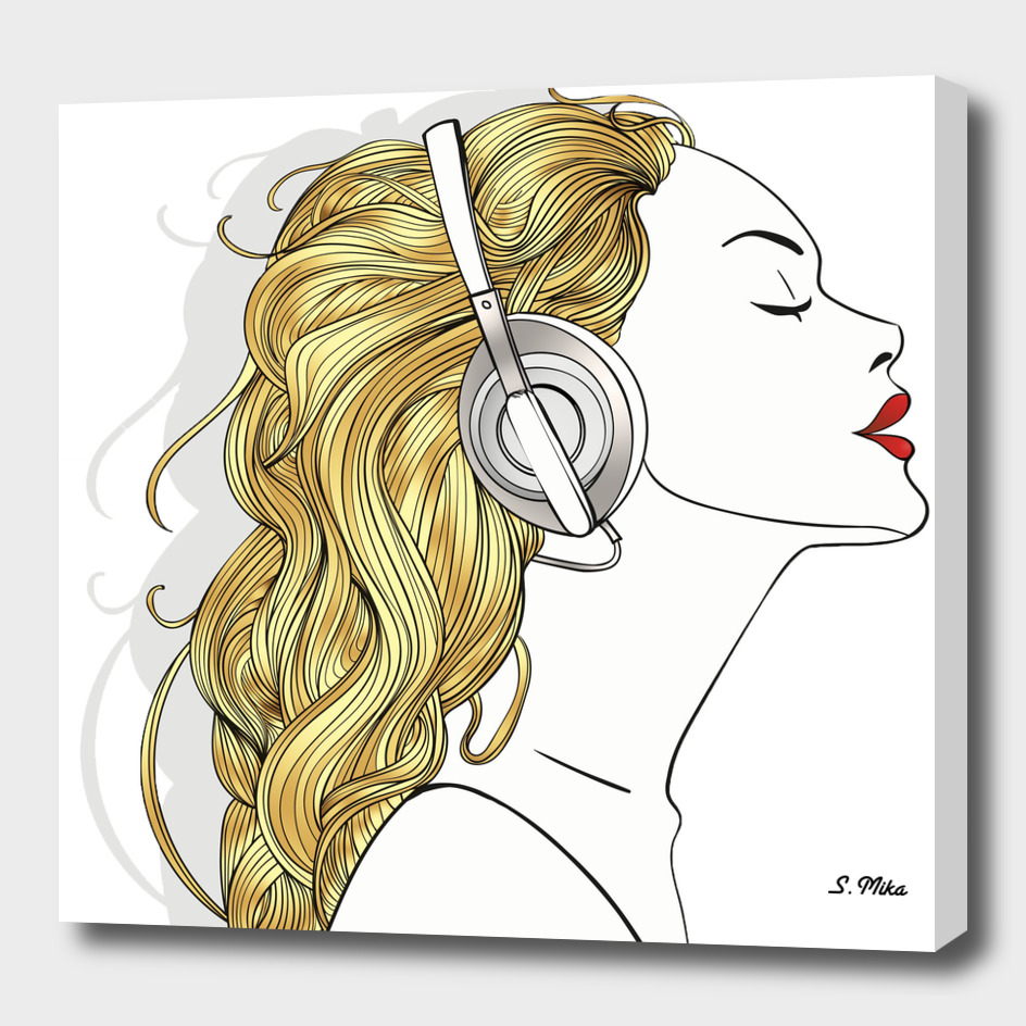 Harmony Exclusive: «Harmony», Exclusive Edition Canvas Print By MikArt