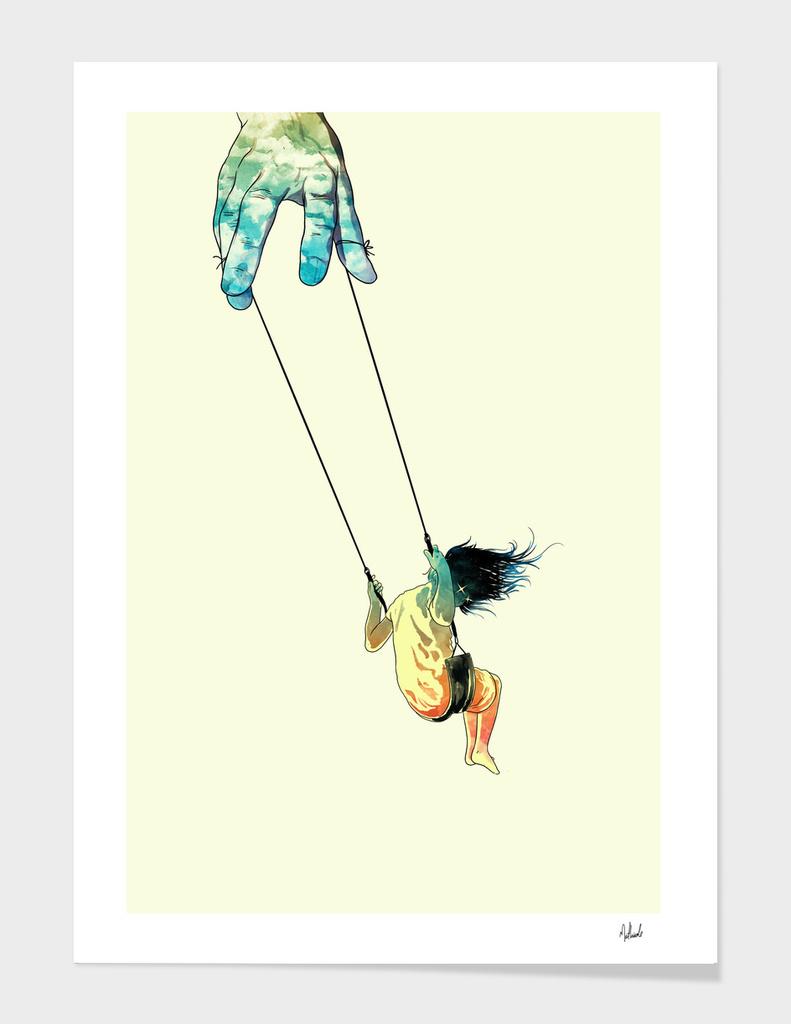 Swing me higher main illustration