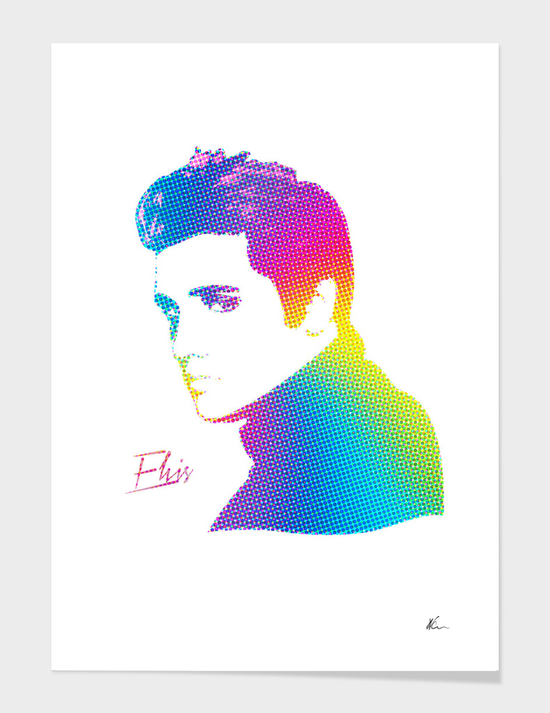 Elvis | Rainbow Series | Pop Art