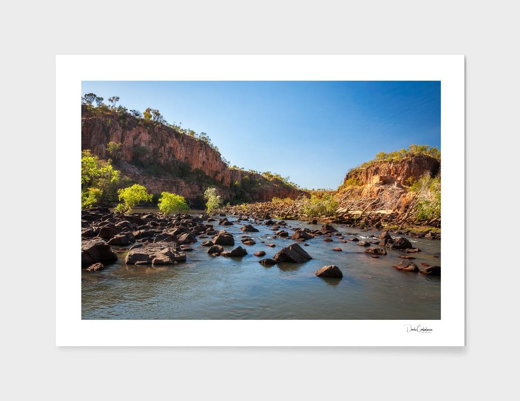 Wild Landscape at Katherine River Gorge, Australia