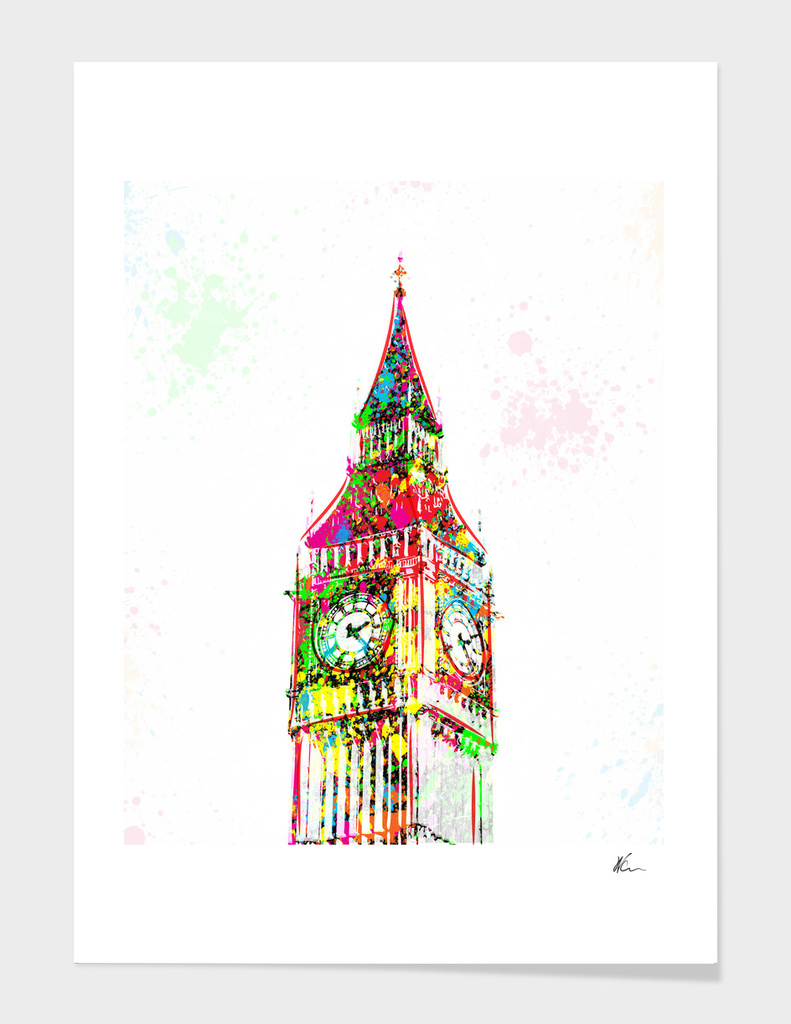 Big Ben | Pop Art