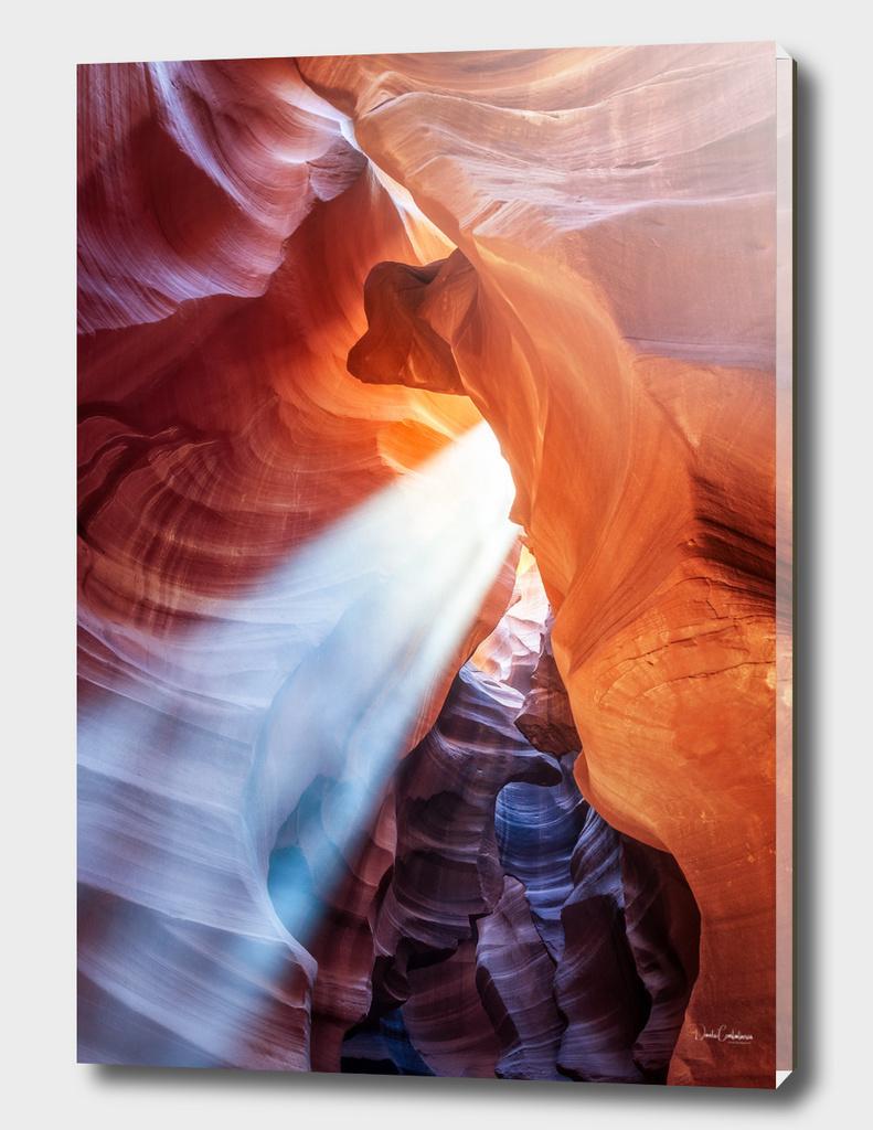 Light beam at Antelope Canyon