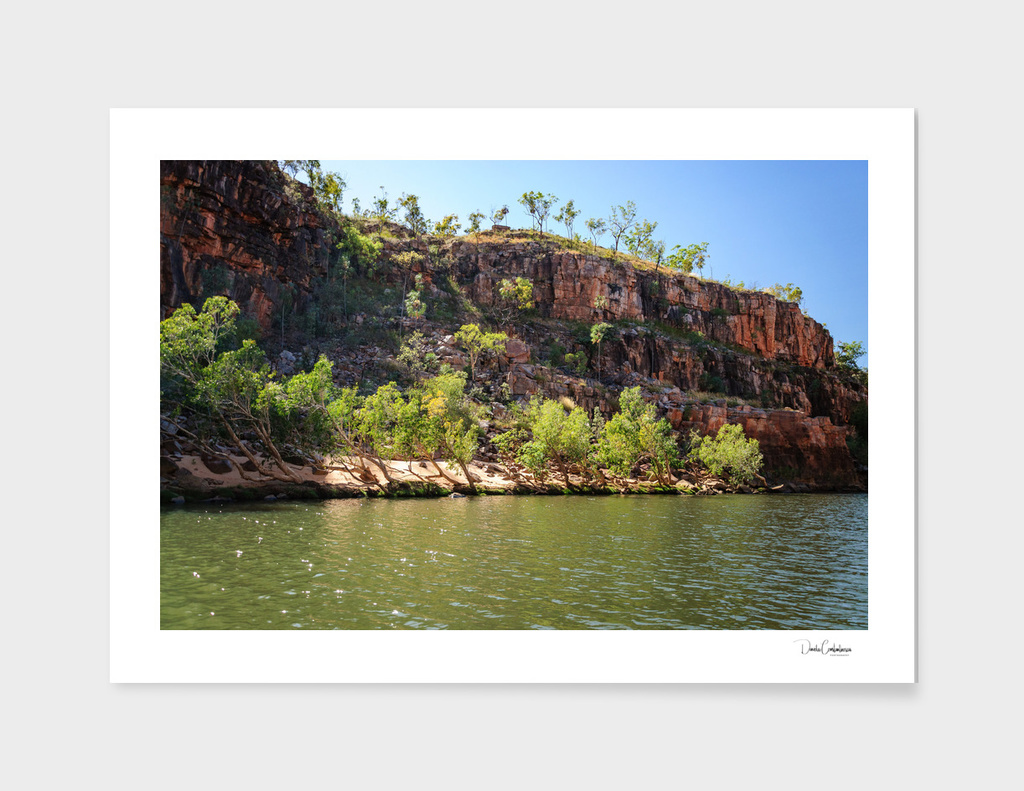 Cruising on the Katherine River Gorge, Australia