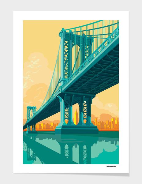 Manhattan Bridge main illustration
