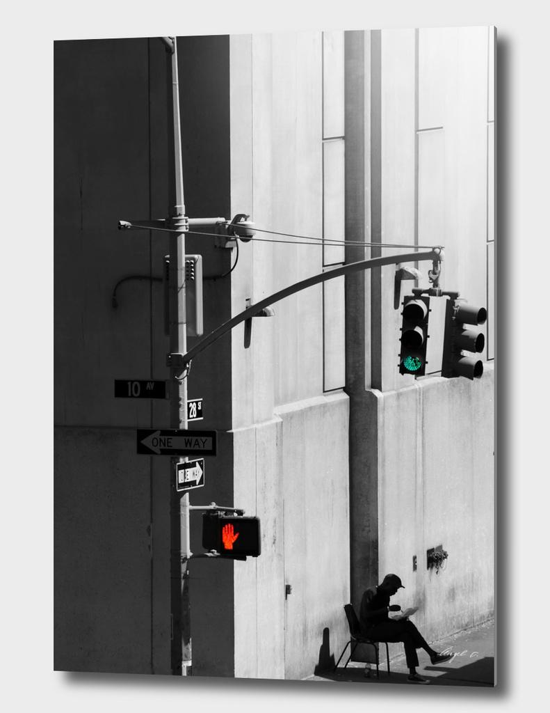 Break in the city